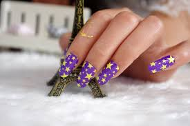 Light Purple Nail Designs 15 Star Nails Designs For Your Nail Shine Zestymag