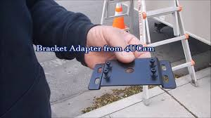 4ucam camera installing on furrion pre install mounting kit