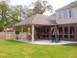 Covered Patio Decorating Ideas by Covered Patio Ideas With Rafters And Waterproof Barrier