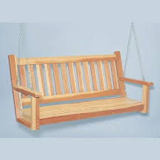 woodworking project paper plan to build porch swing plan no 897