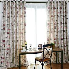 Curtains Set Modern Style Curtain Bedroom Decorative Curtains Set