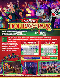 Hours Of Six Flags Six Flags Holiday In The Park U2013 Iupat Dc 711