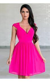 hot pink dress hot pink dress bright pink party dress hot pink dress boutique