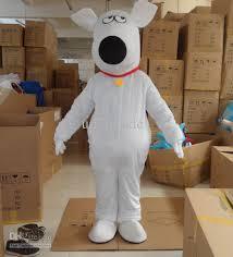 Mascot Costumes Halloween White Scooby Doo Mascot White Dog Costumes Halloween Mascot Fancy