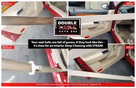 Car Interior Deep Cleaning Doubletake Auto Spa Car Detailing Auto Detailing California