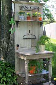 Outdoor Potting Bench With Sink Bench Great Garden Kneeling Workbench Phenomenal Potting Bench