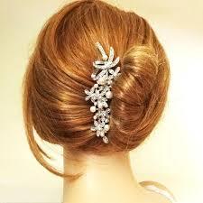 victorian style bridal hair accessories pearl u0026 crystal wedding