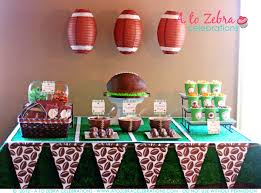 football party ideas football party ideas a to zebra celebrations