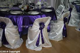 chair covers white satin universal pillow self tie chair covers