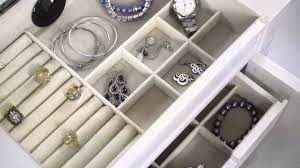 celine jewelry armoire in century white www hivesandhoney com