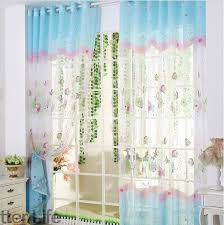 Fish Curtains Blue Fish Blackout Bedroom Curtains