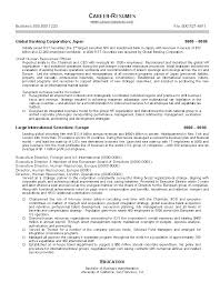 executive summary example for resume collection of solutions