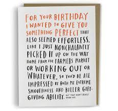 awesome birthday cards awkward birthday card cards awkward