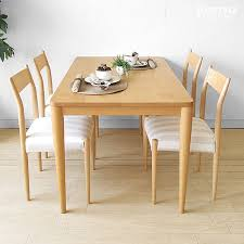 Oak Table And Chairs Best 25 Natural Wood Dining Table Ideas On Pinterest Natural