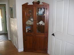 glass corner curio cabinet 38 antique corner curio cabinet antique cortland oak bowed glass
