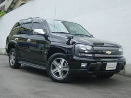 chevrolet trailblazer 2008 chevrolet chevrolet trailblazer ltz 2008 black 33 000 km