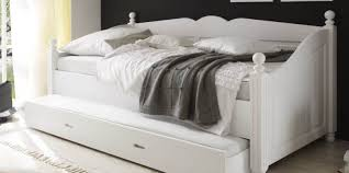 Leather Daybed With Trundle Bed White Daybed Sensational White Vinyl Daybed U201a Famous White