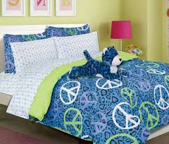 Girls Bed In A Bag by Girls Kids Bedding Annie Blue Leopard Bed In A Bag Comforter Set
