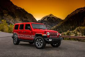 jeep wrangler red 2018 jeep wrangler full color palette leaked