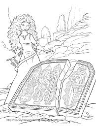 free printable merida coloring pages merida activity sheets and