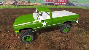 K5 Chevy Blazer Mud Truck - k5 blazer m1008 for farming simulator 2015