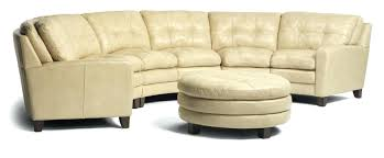 Curved Sectional Sofa With Recliner Circle Sectional Sofa Curved Leather Sofas For Small Spaces Bed
