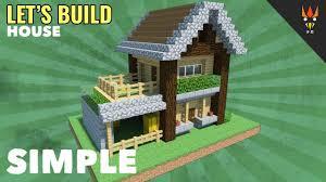 membuat rumah di minecraft minecraft membuat rumah survival 2 youtube