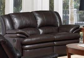 mira home furnishings delray loveseat dark brown delray reclining
