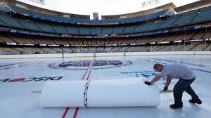 making ice at dodger stadium coolest gig in the game the globe