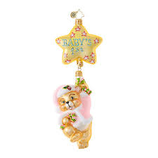 christmas ornaments baby christopher radko ornaments radko girl baby things