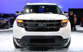 Ford Explorer Black - 2013 ford explorer sport at the 2012 new york auto show motor trend