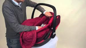 siège auto pebble bébé confort bébé confort how to install the footmuff pebble and pebble plus