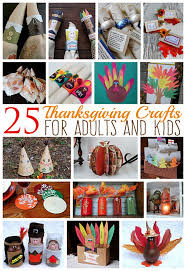25 thanksgiving crafts for adults and crafts by amanda