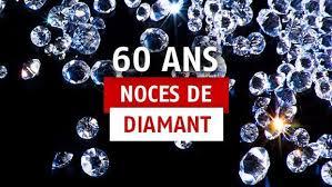 60 ans de mariage noces de 60 ans de mariage idées cadeaux pour fêter les noces de diamant