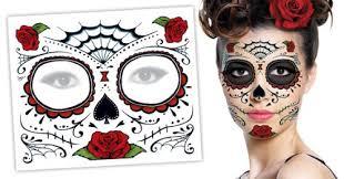 amazon com sugar skull makeup temporary day dead