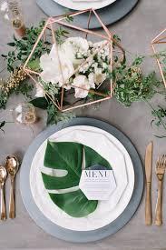Wedding Table Setting 14 Geometric Wedding Table Decor Ideas U2014 The Bohemian Wedding