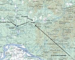 Irrawaddy River Map Sergeant Bert Fitton Chindit Chasing Operation Longcloth 1943