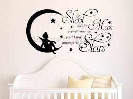 wall decal best shoot for the moon wall decal sun and moon wall
