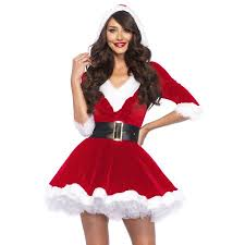 mrs claus costumes leg avenue women s mrs claus 2 santa christmas costume