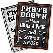 photo booth bigtime designs photo booth props sign 2 sided use