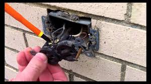 gfci outdoor electrical outlet installation part 1 by home