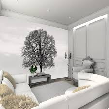 3d wall murals for living room fireplace shelf indoor plant decor