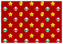mario wrapping paper the gift of nintendo
