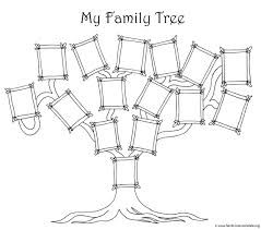 free family tree template designs for ancestry charts