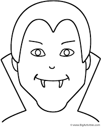 halloween vampires coloring pages kids nice coloring pages