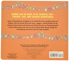 a poem about thanksgiving happy thanksgiving curious george tabbed board book h a rey