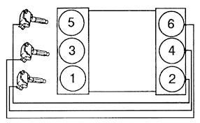 firing order for a 1998 toyota tacoma 3 4l v6