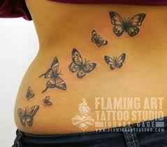 collection of 25 butterflies designs for back