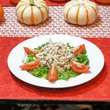 pecan smoked turkey salad or what to do with leftover
