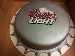 how much sugar in coors light coors light bottle cap cake cakes and more pinterest cap cake